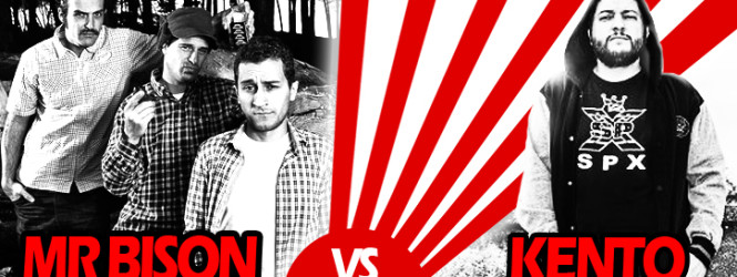 MR BISON vs KENTO – Collaborazione con il grandissimo Rapper Italiano KENTO