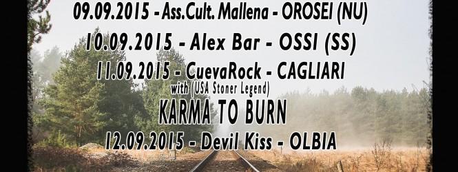 MR BISON – SARDINIA TOUR 2015